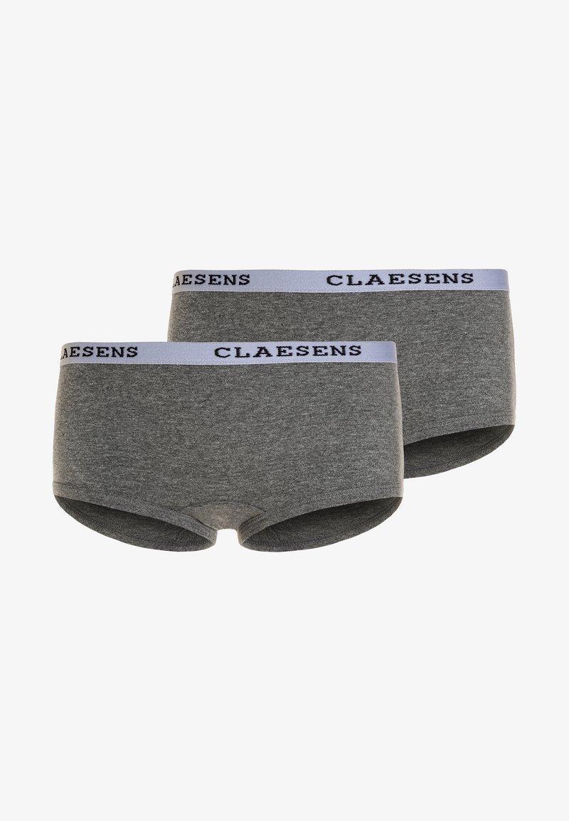 Claesen's - GIRLS 2 PACK - Underbukse - grey
