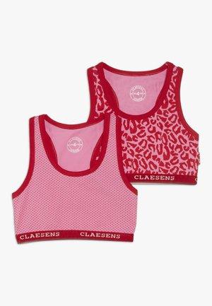 GIRLS 2 PACK - Korzet - pink