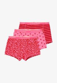 Claesen's - GIRLS BOXER 3 PACK - Panties - red - 4