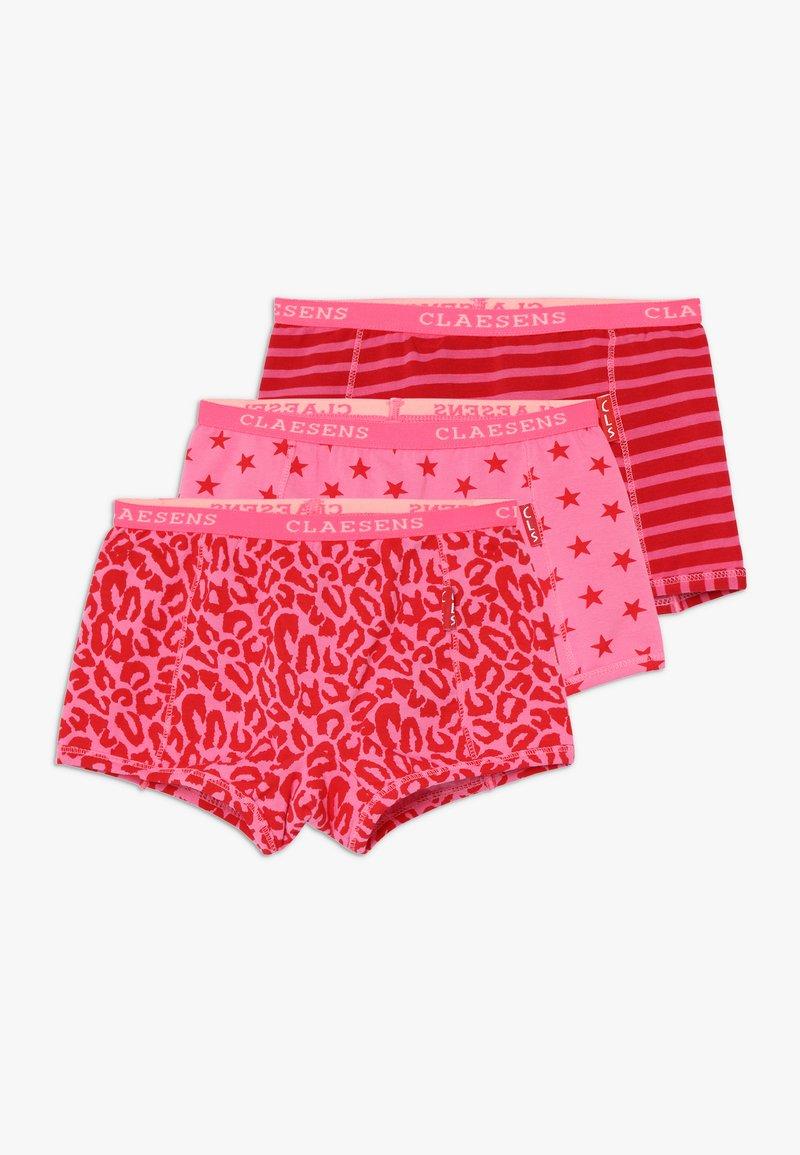 Claesen's - GIRLS BOXER 3 PACK - Panties - red