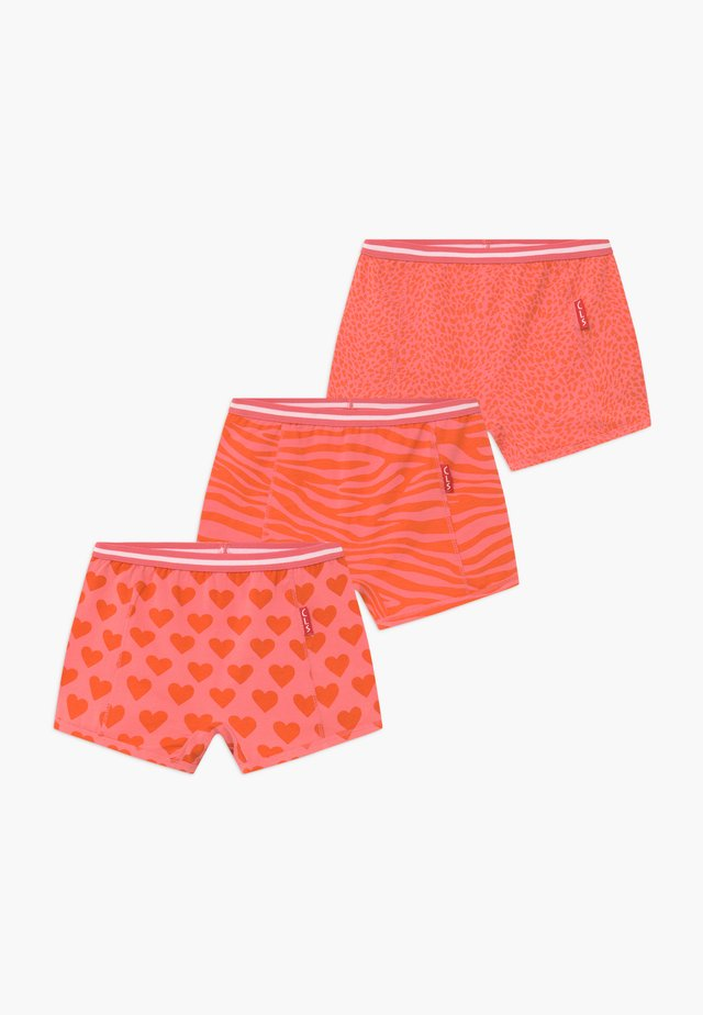 GIRLS BOXER 3 PACK  - Panties - orange