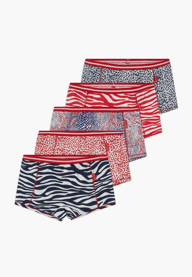 GIRLS BOXER  5 PACK  - Underbukse - navy red