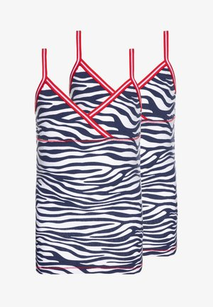 GIRLS 2 PACK SINGLET - Tílko - white