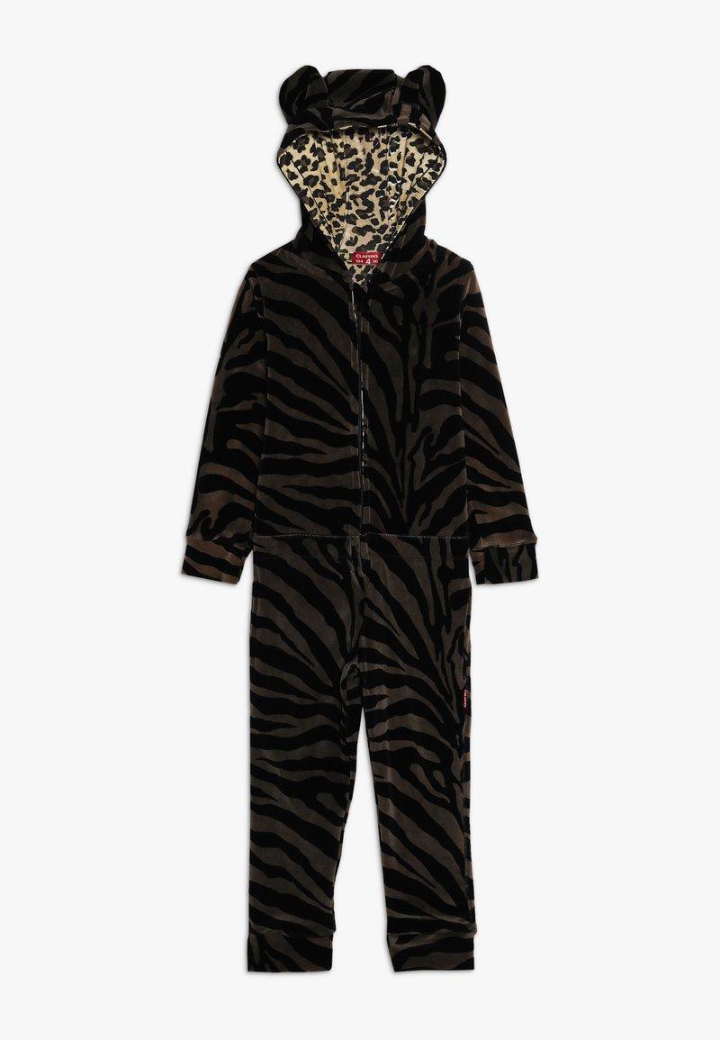 Claesen's - GIRLS SUIT - Pyjamas - dark brown