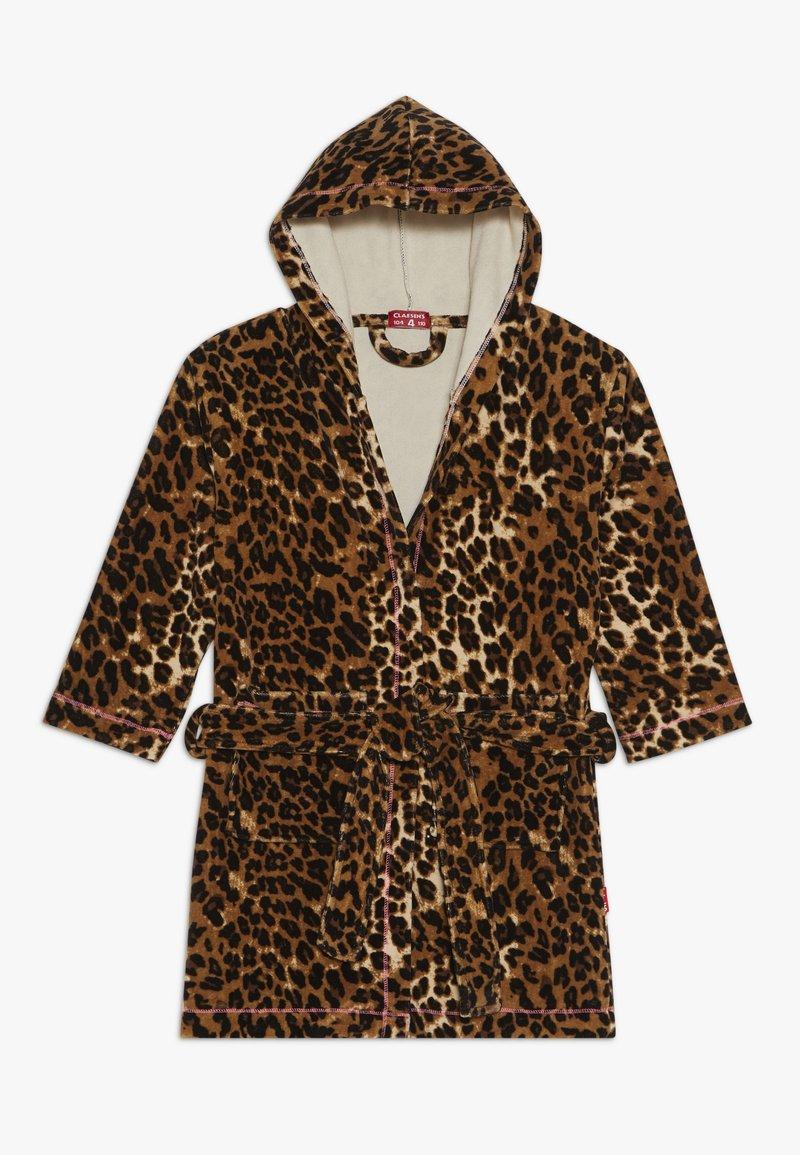 Claesen's - GIRLS BATHROBE - Dressing gown - brown