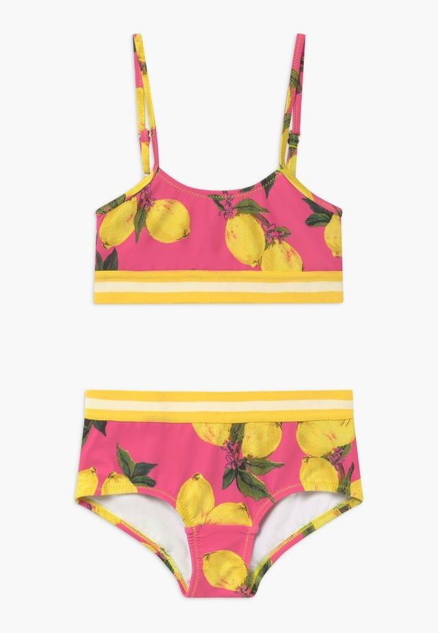 GIRLS SET - Bikinit - pink/yellow