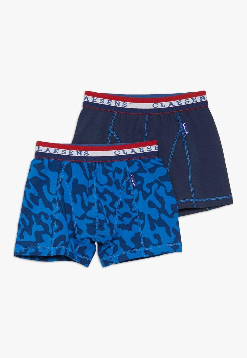 Claesen's - BOXER 2 Pack - Pants - blue
