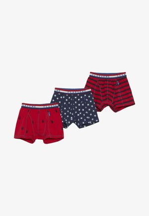 BOXER 3 PACK - Pants - red
