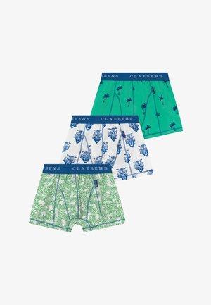 BOYS BOXER 3 PACK  - Pants - cobalt green