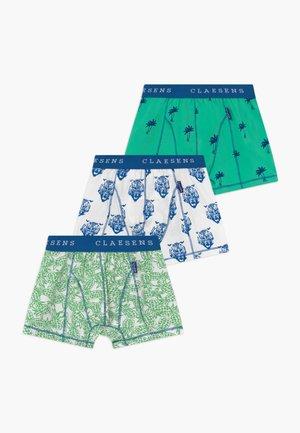BOYS BOXER 3 PACK  - Shorty - cobalt green