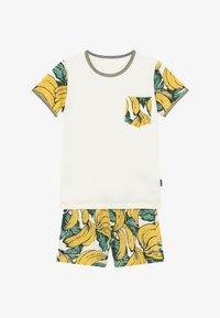 Claesen's - BOYS - Pijama - white, yellow - 3