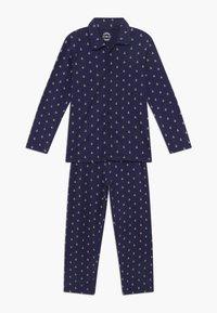 Claesen's - BOYS - Pijama - white navy anchor - 0