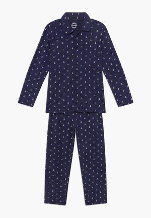 BOYS - Pyjamas - white navy anchor