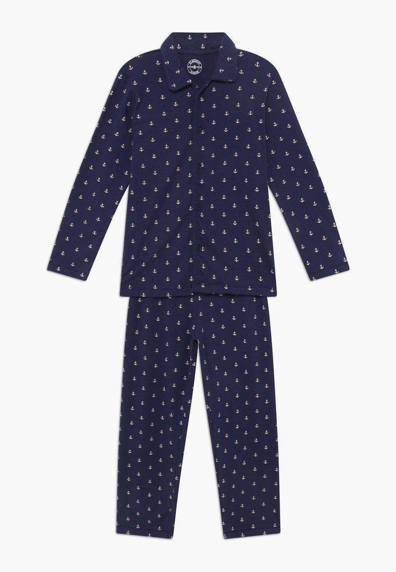 Claesen's - BOYS - Pijama - white navy anchor