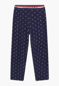 Claesen's - BOYS - Pijama - white navy anchor - 2