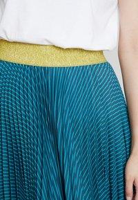 Closet - PLEATED SKIRT - Plisovaná sukně - teal - 4