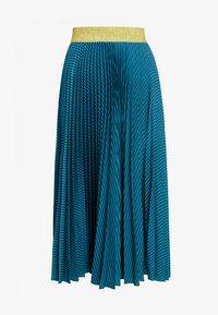 Closet - PLEATED SKIRT - Plisovaná sukně - teal - 3