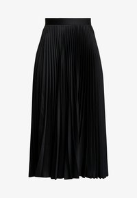 Closet - PLEATED MIDI SKIRT - Maxiskjørt - black - 4
