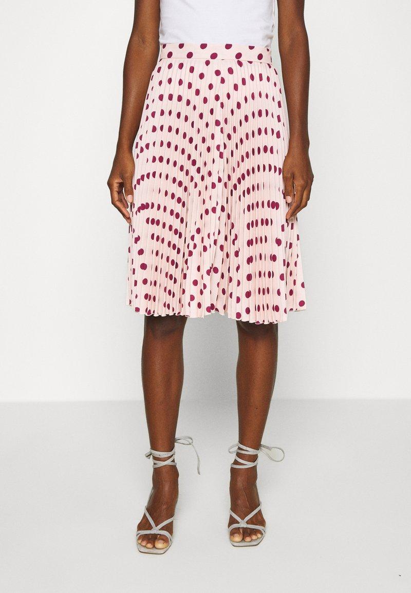 Closet - MINI PLEATED SKIRT - Áčková sukně - ivory