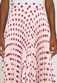 Closet - MINI PLEATED SKIRT - Áčková sukně - ivory - 4