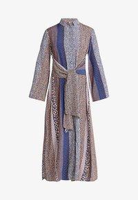 Closet - CLOSET FRONT TIE DRESS - Maxi dress - navy - 4