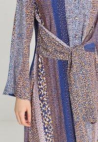 Closet - CLOSET FRONT TIE DRESS - Maxi dress - navy - 5