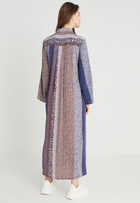 Closet - CLOSET FRONT TIE DRESS - Maxi dress - navy - 2