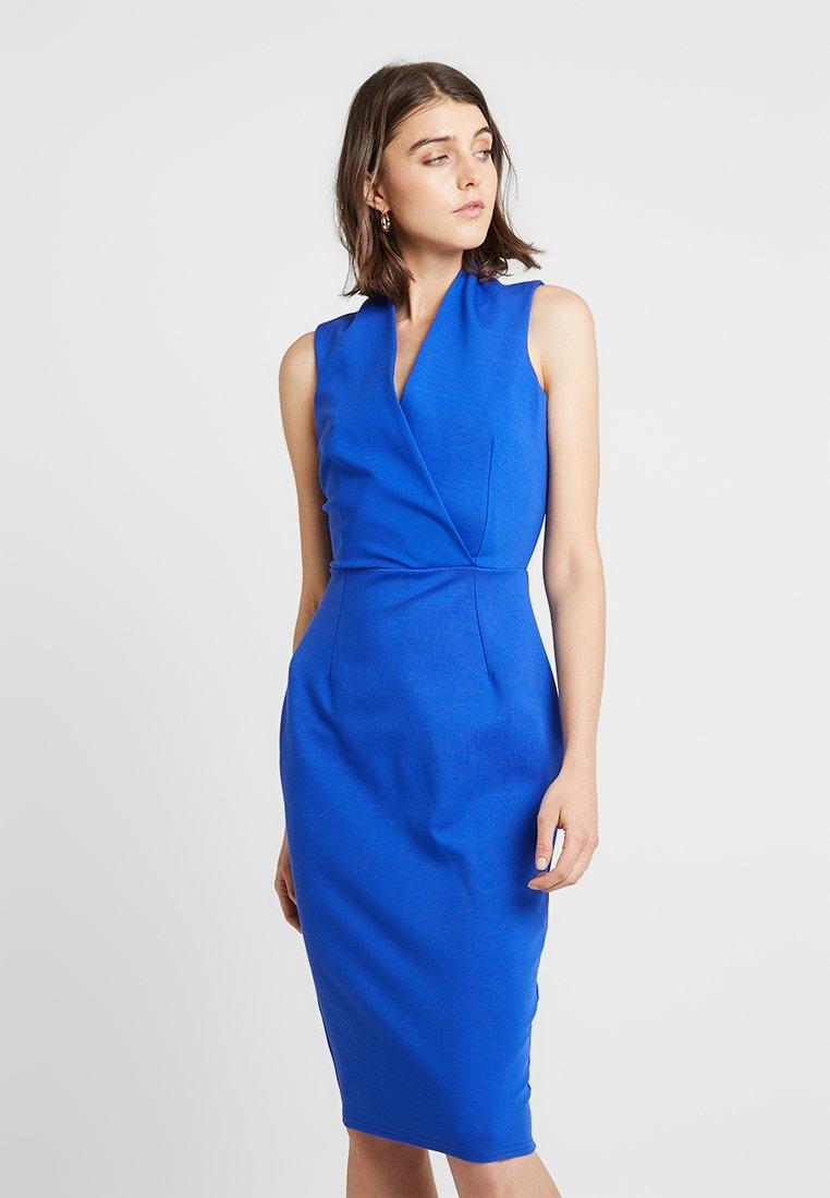 Closet - CLOSRET LONDON BODY CON DRESS - Etui-jurk - cobalt