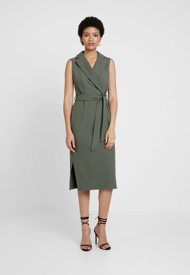 CLOSET COLLARED PENCIL DRESS - Etuikjoler - khaki
