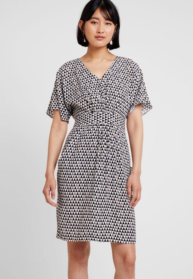 CLOSET GATHERED WAIST TULIP DRESS - Sukienka letnia - black