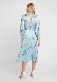 Closet - CLOSET GATHERED NECK A-LINE DRESS - Juhlamekko - blue - 2