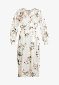 Closet - WRAP DRESS WITH BUCKLE - Maxi-jurk - ivory - 5
