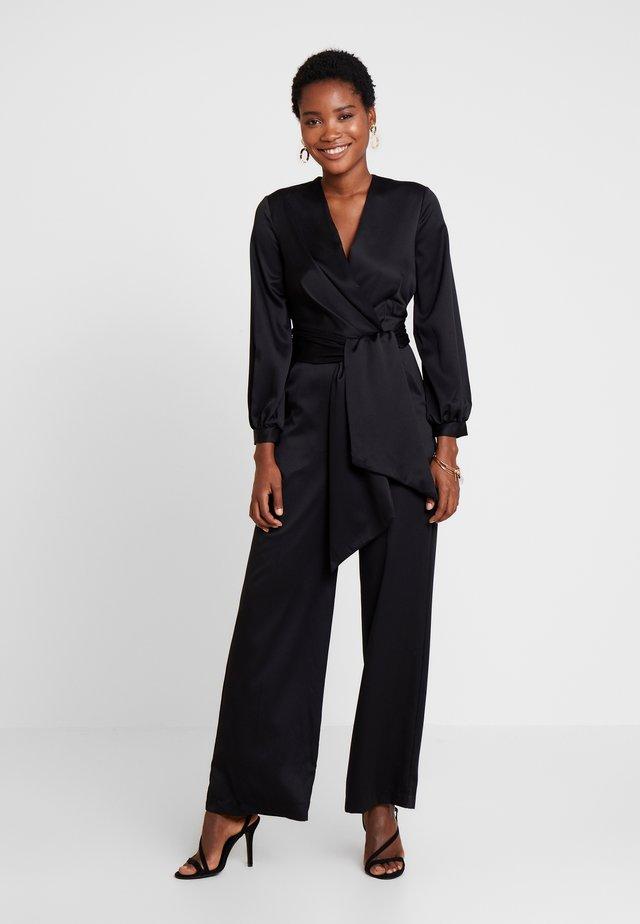 WRAP - Overall / Jumpsuit /Buksedragter - black