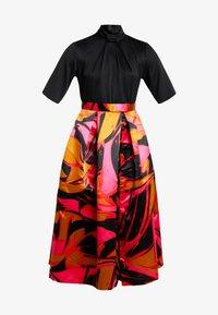 Closet - COLLAR FULL SKIRT DRESS - Cocktailkleid/festliches Kleid - red - 5