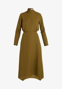 Closet - HIGH NECK A LINE DRESS - Maxi dress - lime - 4