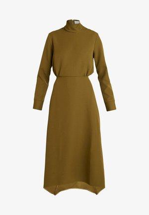 HIGH NECK A LINE DRESS - Maxi-jurk - lime