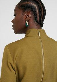 Closet - HIGH NECK A LINE DRESS - Maxi dress - lime - 3