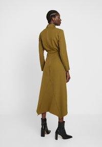 Closet - HIGH NECK A LINE DRESS - Maxi dress - lime - 2