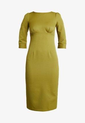 HIGH WAIST PENCIL DRESS - Cocktail dress / Party dress - lime