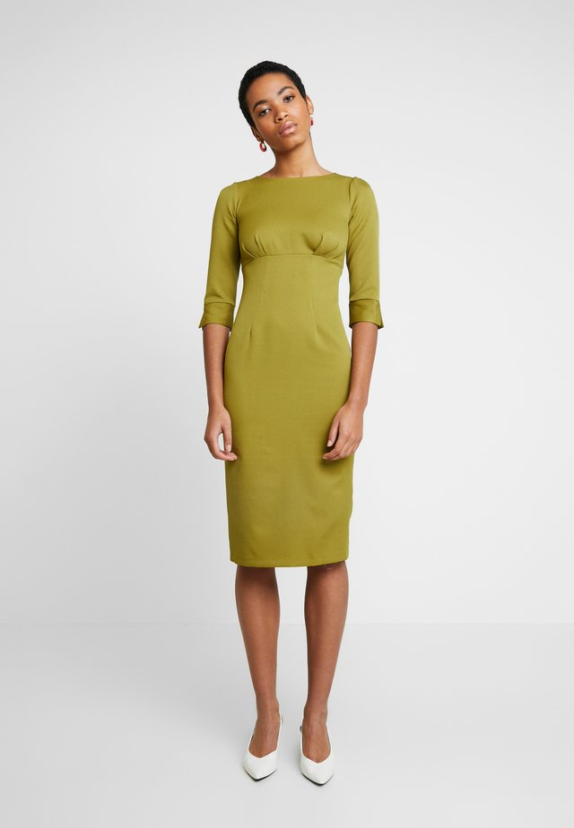 HIGH WAIST PENCIL DRESS - Cocktailklänning - lime