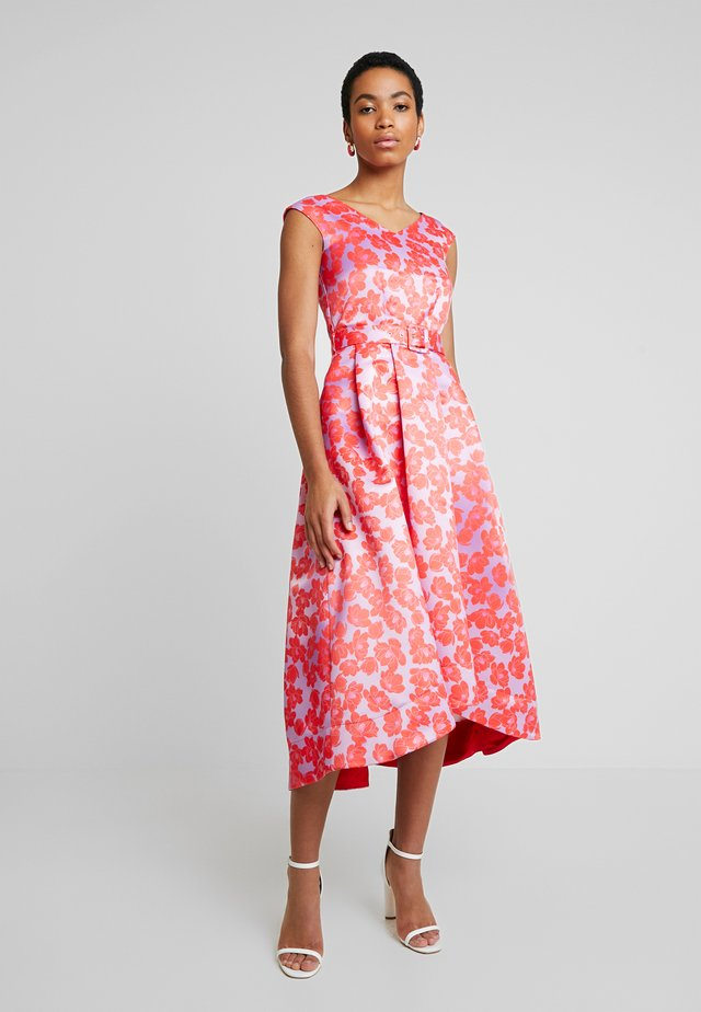 HI-LO PLEATED DRESS - Vestito elegante - lilac