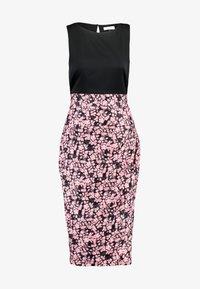 Closet - PLEATED PENCIL DRESS - Robe fourreau - pink - 5