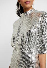 Closet - KIMONO SLEEVE DRESS - Cocktail dress / Party dress - silver - 7