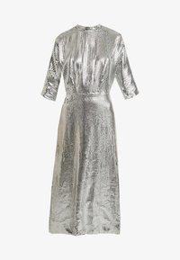 Closet - KIMONO SLEEVE DRESS - Vestito elegante - silver - 6