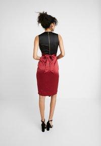 Closet - Vestito elegante - black red - 3