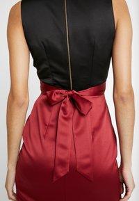 Closet - Vestito elegante - black red - 6