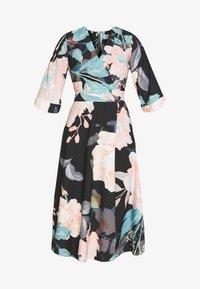 Closet - CLOSET HIGH LOW WRAP DRESS - Hverdagskjoler - duck egg - 5
