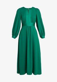 Closet - CLOSET HIGH NECK SKATER DRESS - Korte jurk - green - 5
