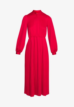 PLEATED DRESS - Robe d'été - red