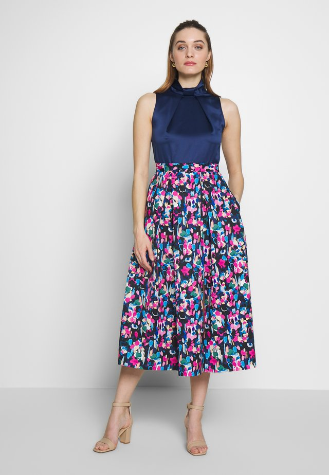 CLOSET GOLD FULL SKIRT DRESS - Cocktailjurk - blue